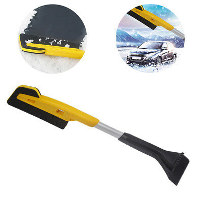 Zone Tech Extendable Telescopic Ice Scraper Multi Function Snow Brush Extends