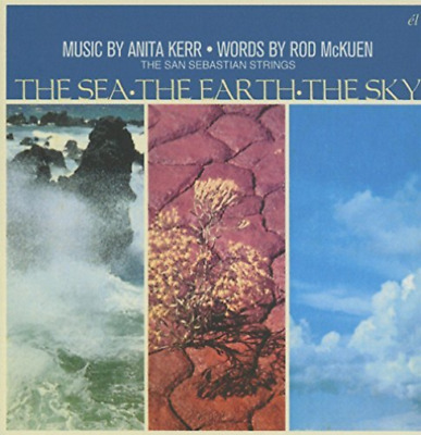 Mckuen,rod / Kerr,anita / S...-Sea The Earth The Sky (Uk) Cd New