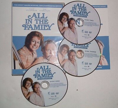 All in the Family: The Complete Ninth Season (DVD, 2011, 3-Disc Set) Comedy