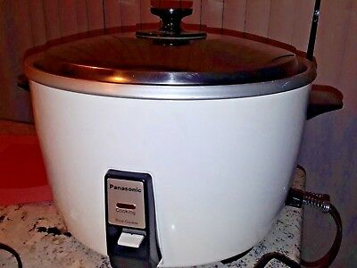 Panasonic Commercial 23 Cups Rice Cooker- #sr42P-  Restaurant Use-Guc!