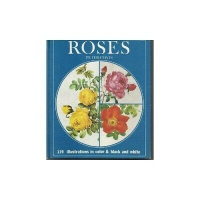 Roses by Coats, Peter Hardback Book The Cheap Fast Free Post