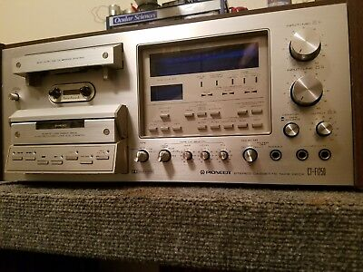 Pioneer Ct-F1250 Stereo Cassette Deck
