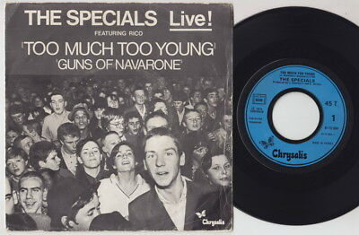 The SPECIALS * 1979 French Only 45 * SKA REVIVAL 2TONE *