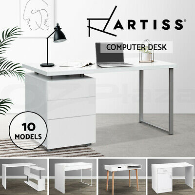 Artiss Office Computer Desk Student Study Table Home Workstation Storage Cabinet