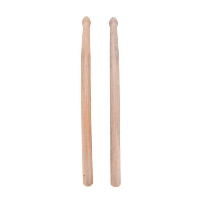 New 1 Pairs Music Band Maple Wood Drum Sticks Drumsticks 5A  LAUS
