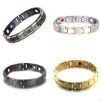 Magnetic Therapy Energy Bracelet Bangle Health Bio Arthritis Pain Relief Aid New