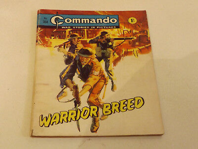 Commando War Comic Number 364 !!,1968 Issue,good For Age,50 Years Old,v Rare.