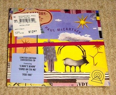 New Sealed Paul Mccartney Egypt Station Limited Edition Cd + Free Shipping