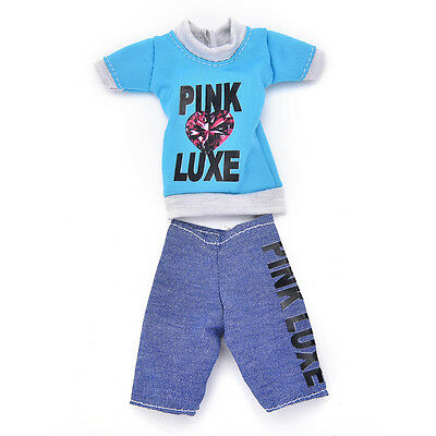 New Fashion Handmade Party Dresses Clothes For  Ken Noble Doll Best Gifts