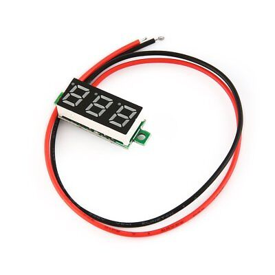 2.5-30V 0.28in 2Wire LED Digital Panel Voltmeter Voltage Meter Car Volt Tester #