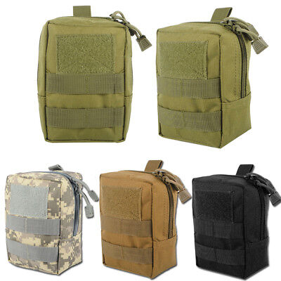 Molle Tactical Pouches Compact EDC Waist Bag Pack Small Gadget for Backpack