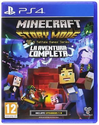 Minecraft Story Mode: The Complete Adventure - PS4 Playstation 4 - NEU