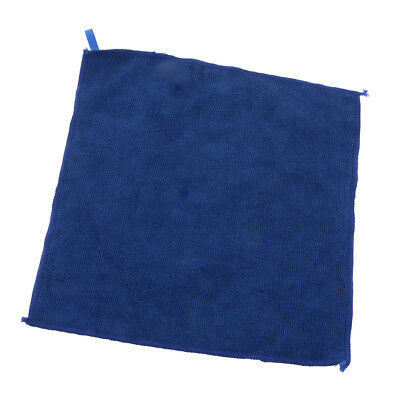 29x29cm Microfiber Cleaning Towel Car Kitchen Dish Wash Dry Clean Cloth Blue