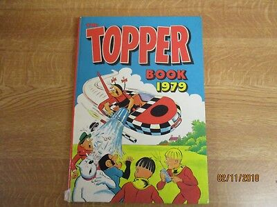1979, TOPPER ANNUAL, Danny's Tranny, Beryl the Peril, Marco Polo, Nobby, Tiny.