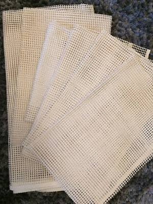 3.75 hpi canvas for latch hooking. 6 pieces. Suitable for Pom pom rug making