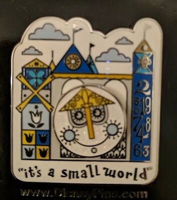 Disney It's a Small World Attraction Logo Sun Icon Spinner Pin
