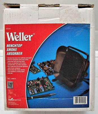 Weller Benchtop Smoke Absorber WSA350 with box excellent condition.