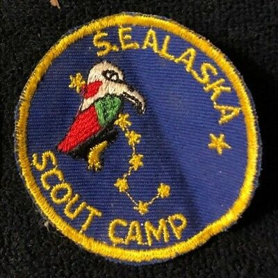 Vintage South East Alaska Scout Camp Boy Scouts Of America Patch
