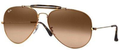 0b120e91c4 Authentic Ray-Ban Outdoorsman II RB3029 9001A5 Bronze Copper Pink Brown  Gradient