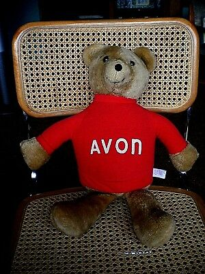1977 Dealer Only Avon Teddy Bear Dan-Dee Imports Stuffed Animal
