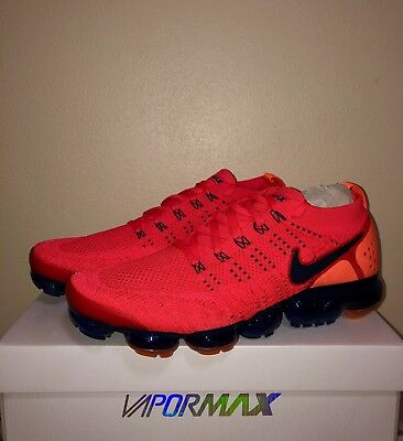 0333f9528fdb 🚨 NIKE AIR Vapormax Flyknit 2 Red Orbit Obsidian AR5406 600 Running ...