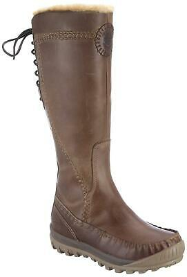 WOMENS TIMBERLAND EARTHKEEPERS MT Holly Zip Up High Leg Boots Sizes 3.5 to 8