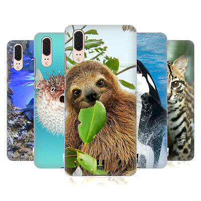 Head Case Designs Famous Animals Hard Back Case For Huawei Phones 1