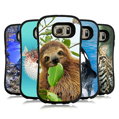 Head Case Designs Famous Animals Hybrid Case For Samsung Phones