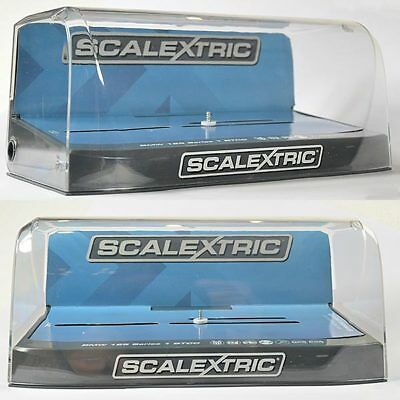 SCALEXTRIC Slot Car Crystal Display Case  - Grey Base