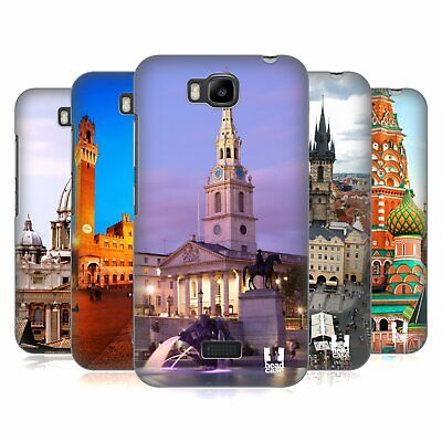Head Case Designs Famous City Squares Hard Back Case For Huawei Phones 2