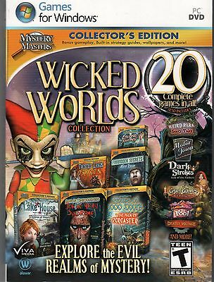 HOUSE 1000 DOORS PALM ZOROASTER Hidden Object WICKED WORLDS 20 PACK PC Game NEW