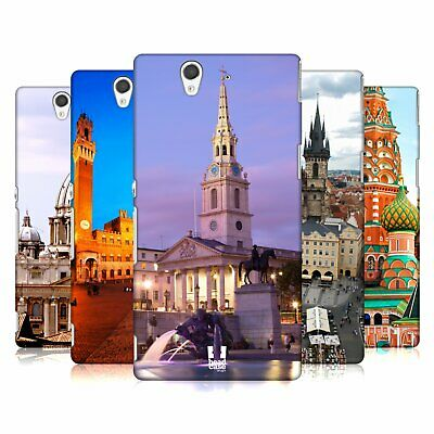 Head Case Designs Famous City Squares Hard Back Case For Sony Phones 3