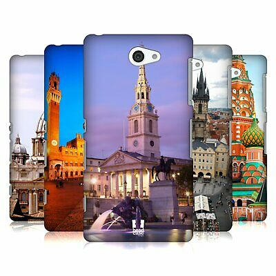 Head Case Designs Famous City Squares Hard Back Case For Sony Phones 4