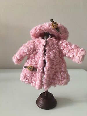 Super Rare Vogue Ginny Pink Poodle Coat & Beret 1952