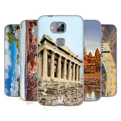 Head Case Designs Famous Landmarks Soft Gel Case For Huawei Phones 2
