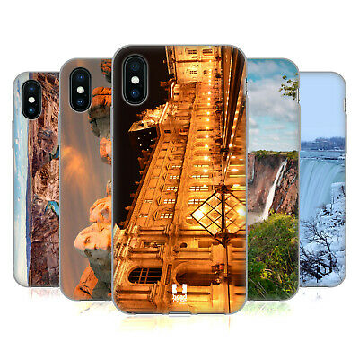 HEAD CASE DESIGNS FAMOUS LANDMARKS SOFT GEL CASE FOR APPLE iPHONE PHONES
