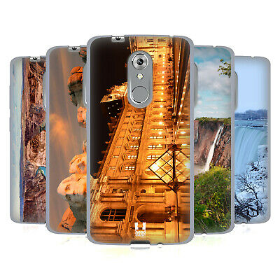 Head Case Designs Famous Landmarks Soft Gel Case For Zte Phones