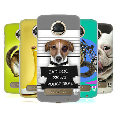 Head Case Designs Funny Animals Hard Back Case For Motorola Phones 1