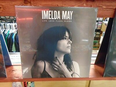 Imelda May Life Love Flesh Blood LP NEW vinyl 5th Album Jools Holland Jeff Beck
