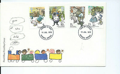 Gb Fdc International Year Of The Child 1979