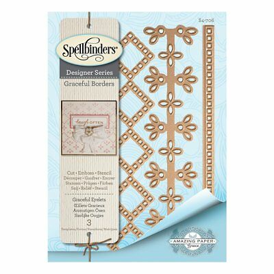Spellbinders Graceful Borders Collection - Die - Graceful Eyelets Card Creator