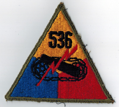 US WWII 526th Armored Division Patch Off Uniform Original WW2 Mose Collection QQ