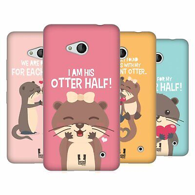 Head Case Designs My Significant Otter Soft Gel Case For Microsoft Phones