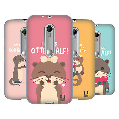 Head Case Designs My Significant Otter Soft Gel Case For Motorola Phones 2