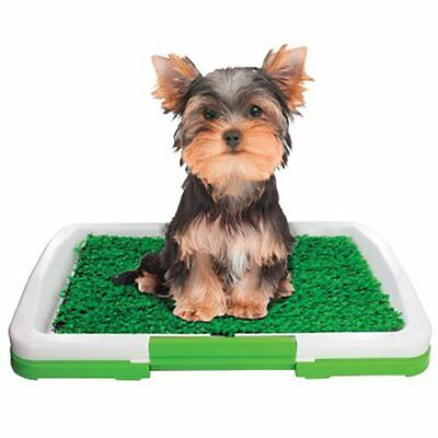 LavoHome Indoor Pets and Puppy Potty Trainer Patch Tray Mat Pad Rug Removable...