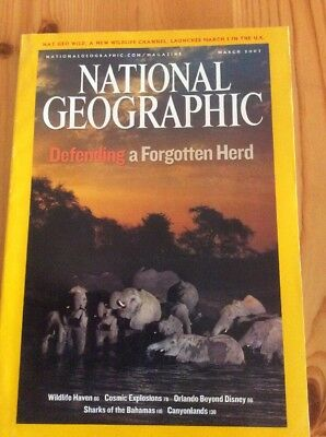 National Geographic Magazine March 2007