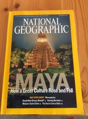 National Geographic Magazine August 2007
