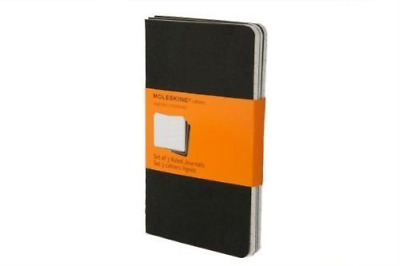 --Moleskine Cathiers Black Ruled Journals BOOK NEW