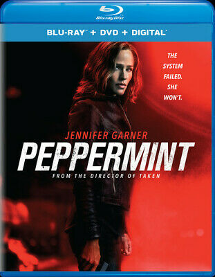Peppermint [New Blu-ray] With DVD, 2 Pack, Digital Copy
