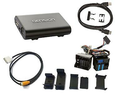 Dension Gateway 300 Dock Cable iPod iPhone USB AUX Interface BMW 40 PIN Flachk.